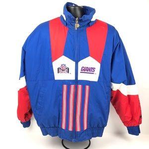 NFL GIANTS Men's Vintage reversible Jacket